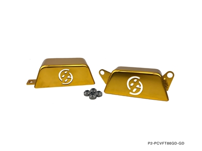 pm ft pulley cover gold